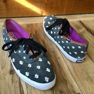 Keds Limited Edition Ikat Canvas Sneakers, Sz 8